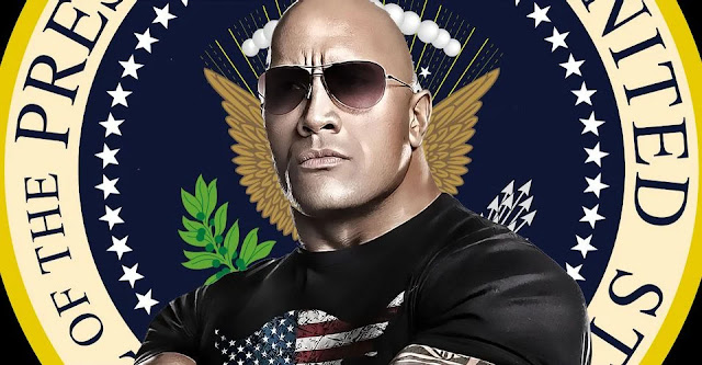 🤣 THE ROCK Presidente de los Estados Unidos en un futuro?