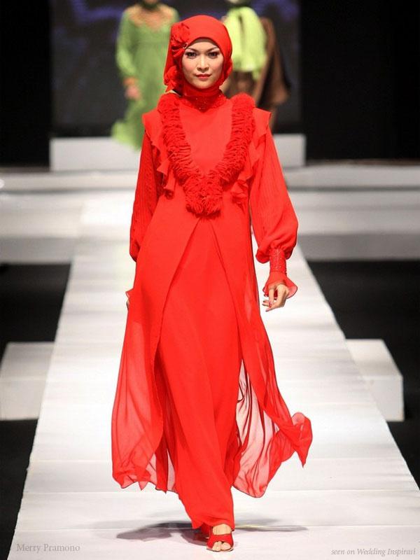 Frittancyshop Muslimah Dinner Dress