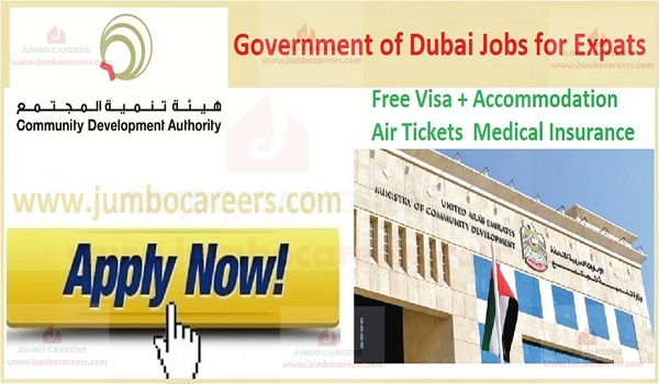 Available job vacancies in Dubai,