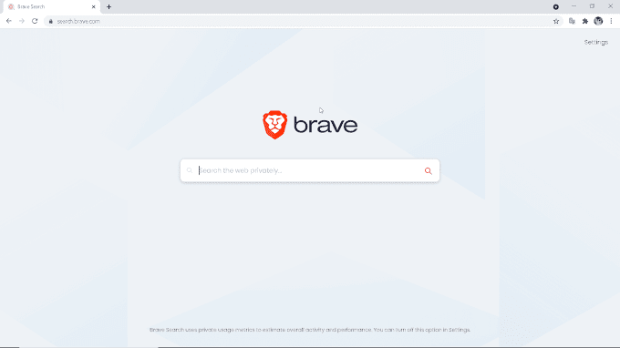 Brave's own Private Search Engine is here