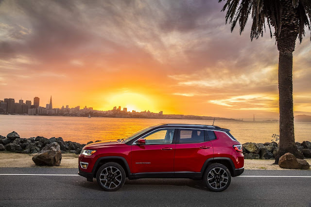 Jeep Compass ganha Top Safety Pick no IIHS