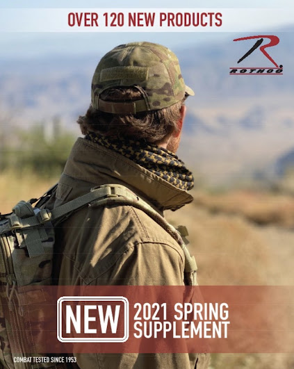 Rothco s 2021 Spring Catalog is Here!
