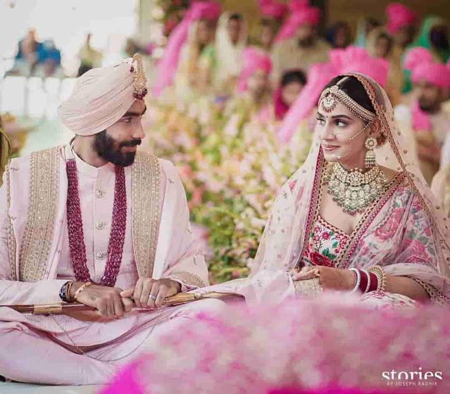 Bumrah-Sanjana Wedding Photos