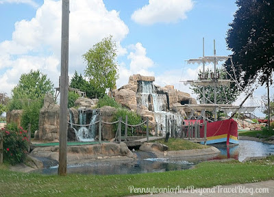 Professor Hacker's Lost Treasure Miniature Golf in Lancaster Pennsylvania