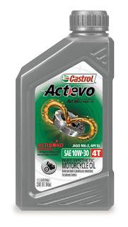 Best Engine Oil For Bike - Castrol Activ 4T 20W-40 Petrol Engine Oil for Bikes (1 L)