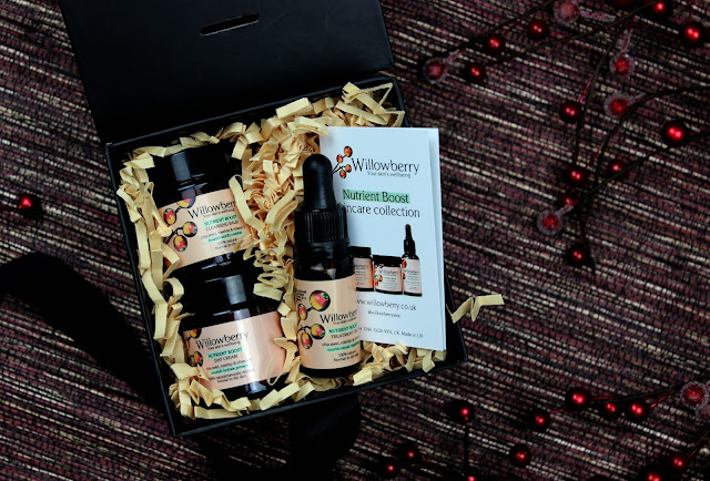 A review of the Willowberry Nutrient Boost Mini Skincare Gift Set