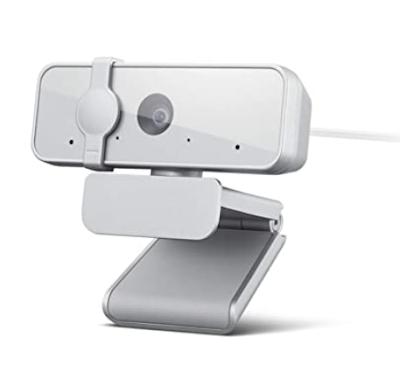 Lenovo 300 FHD 2.1 Megapixel CMOS Webcam With 4X Digital Zoom, Ultra-Wide 95° Lens & 360° Rotation
