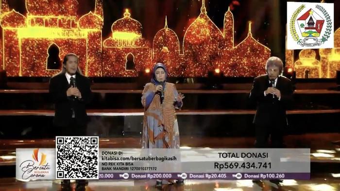 Digelar 2 Jam, Konser 'Bersatu Melawan Corona' Sukses Galang Rp 4 M