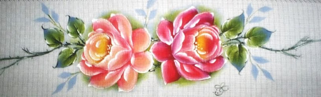 rosas barrado pintura