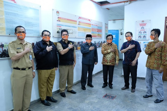 Cek Kesiapan Pilkada, Pjs Walikota Sambangi KPU Depok