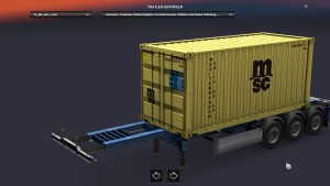 JBK 5 Container trailer pack