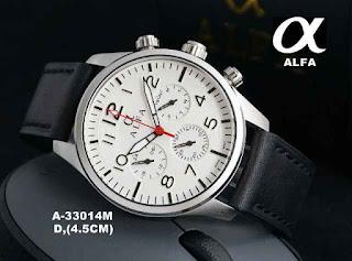 Jual jam tangan Alfa,Jam tangan Alfa original