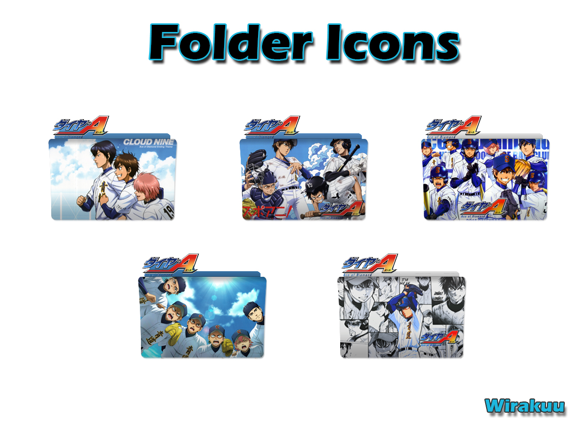 Download Folder Icons Anime Diamond no Ace
