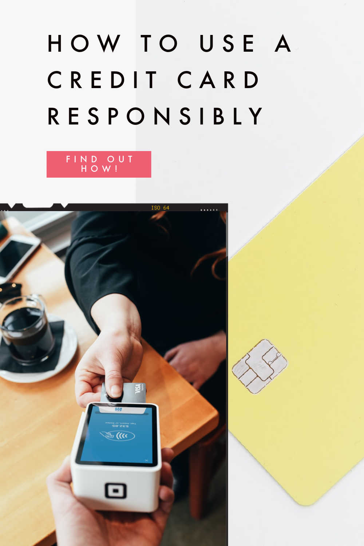 CREDIT CARD RESPONSIBLE