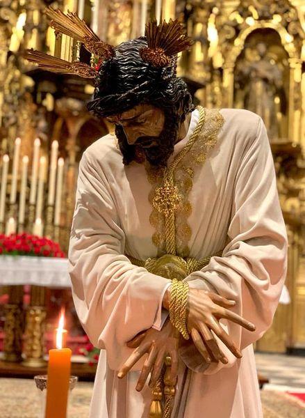 Así regresa Nuestro Padre Jesús Nazareno del Amor al Convento de San Francisco en Cádiz