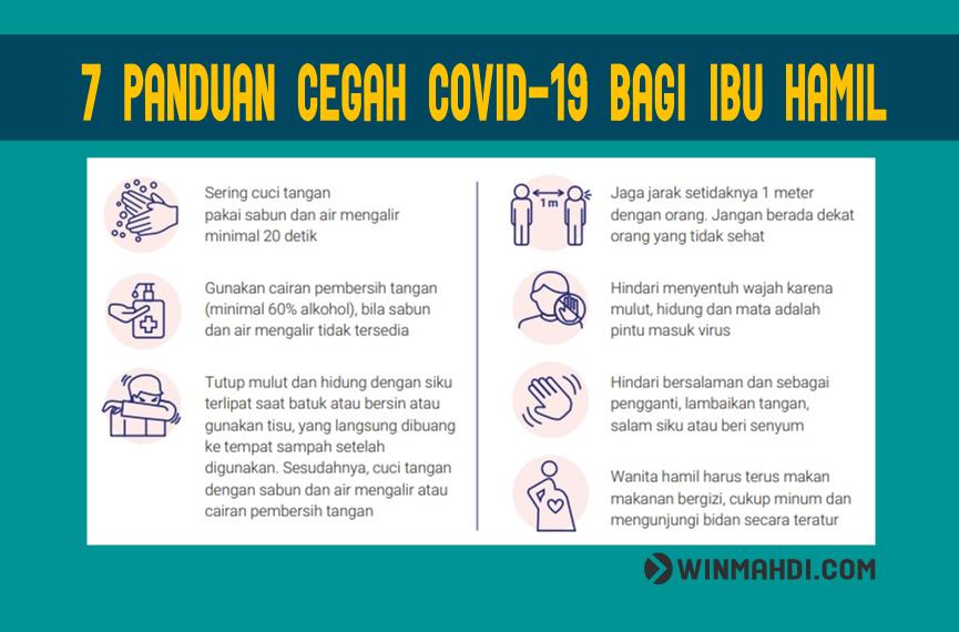 7 Panduan Cegah COVID-19 BAGI IBU Hamil