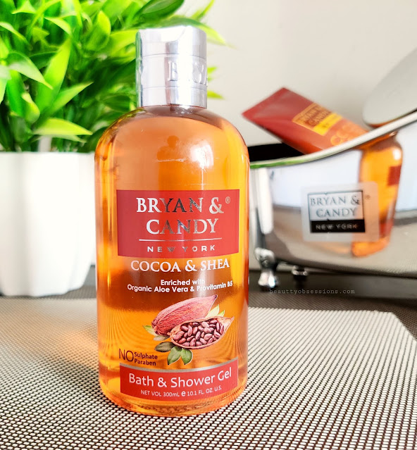 Bryan and Candy New York's Cocoa and Shea shower gel