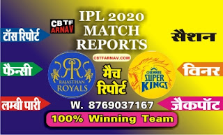 IPL T20 CSK vs KXIP 37th Today Match Prediction |100% Sure Winner