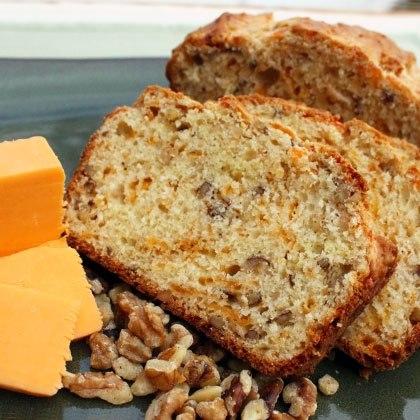 Cheddar and Walnut Bread