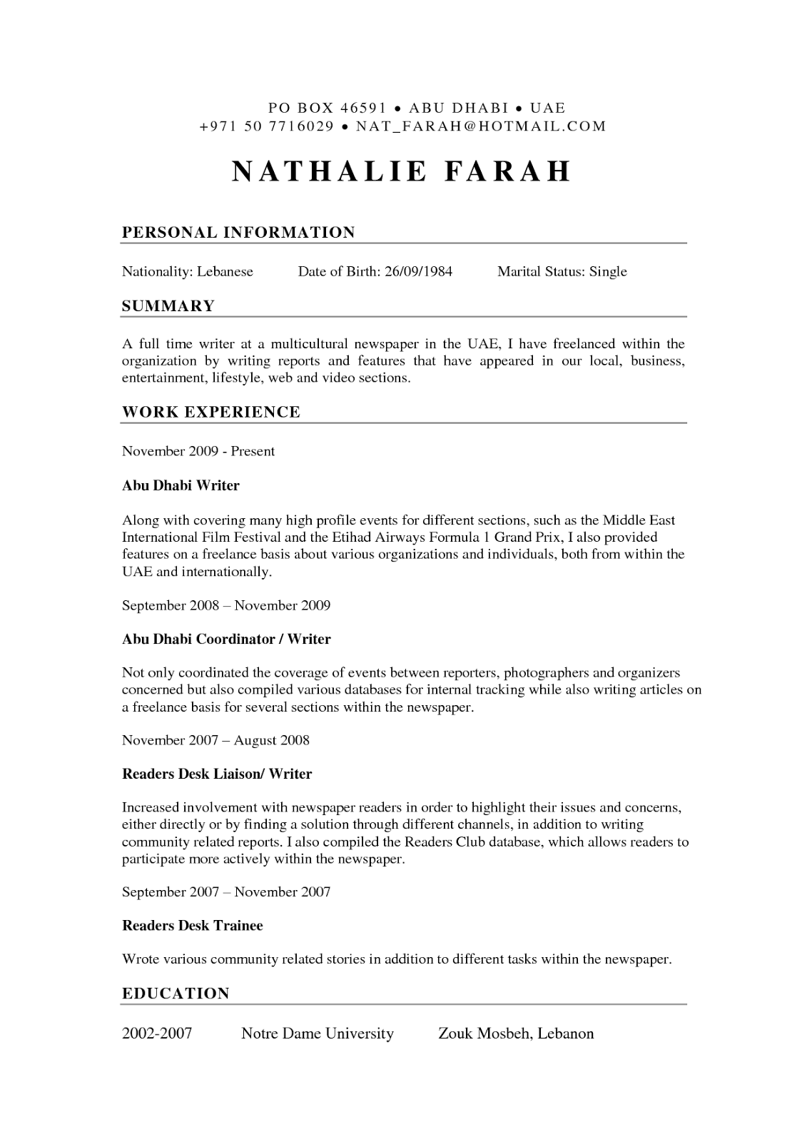 resume writing with resume templates - Free Resume Writers