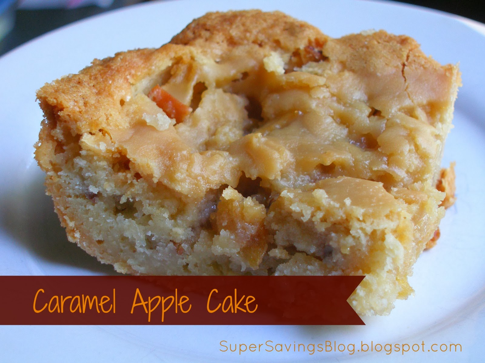 Caramel Apple Cake Recipe Uk