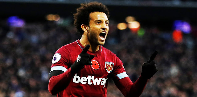 West Ham's Felipe Anderson joins Porto on season-long loan