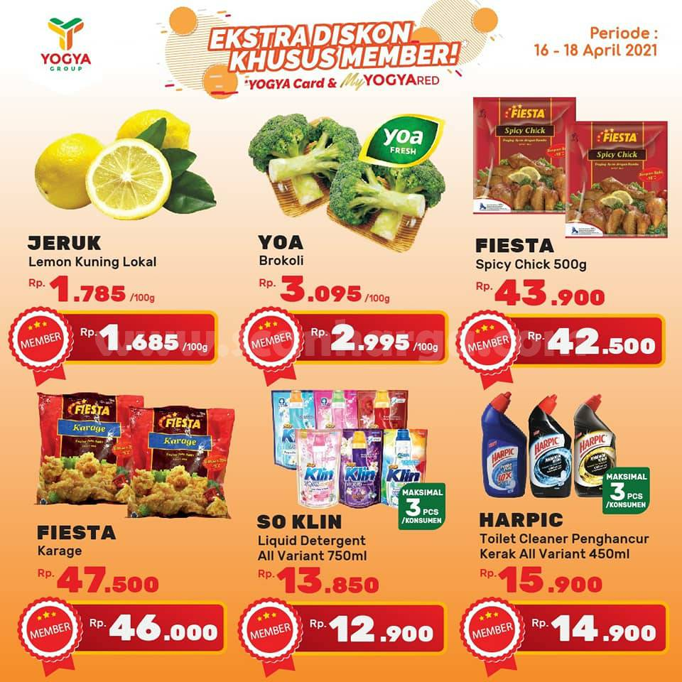 Katalog Promo Toserba Yogya Weekend 16 - 18 April 2021 9