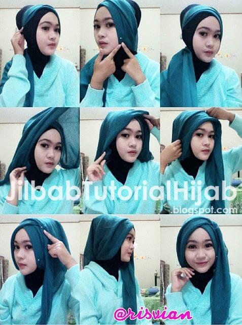 Tutorial Hijab Layer Samping Untuk Ke Kantor Dan Kampus Blog Tutorial