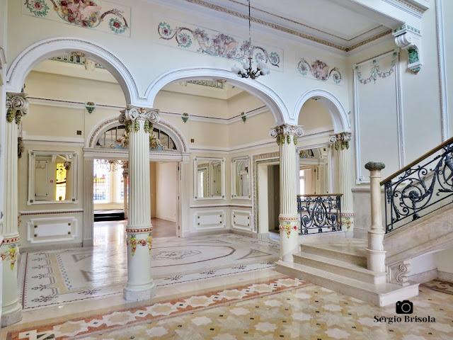 Palacete Basílio Jafet (Hall de entrada)