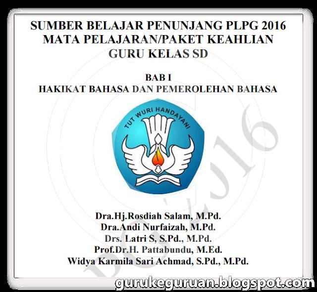 Download Materi PLPG 2016 SD Semua Mata Pelajaran