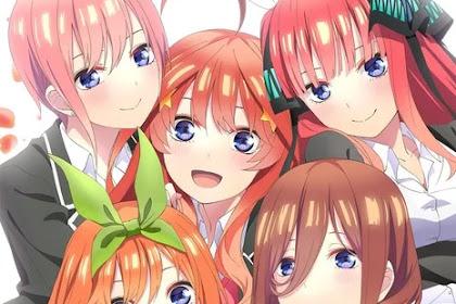 Go Toubun no Hanayome Season 2 Akan Tayang Oktober 2020! Staf dan Studio Baru Terungkap!