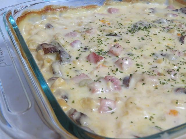 One-Step Ham Casserole