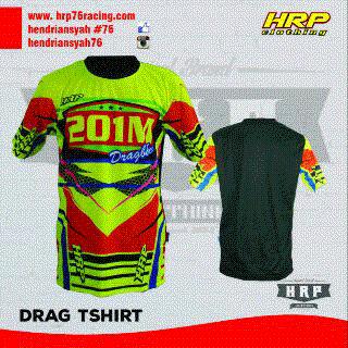 Jersey Hendry 76 Drag Bike HRP #33
