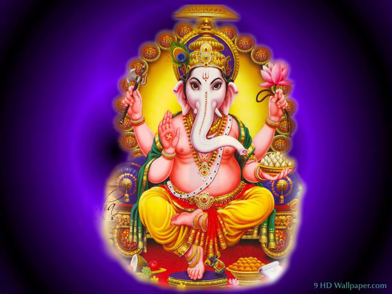 God Hd Wallpapers High Quality Lord Ganesh Wallpaper