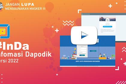 #InDa - Infomasi Penting Story Instagram @dapodik_official Kemdikbud 24 Jam Terakhir