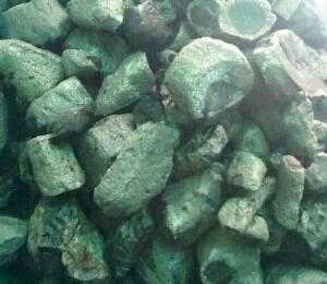 cara bentuk batu black opal