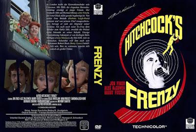 Carátula dvd: Frenesí (1972) Frenzy