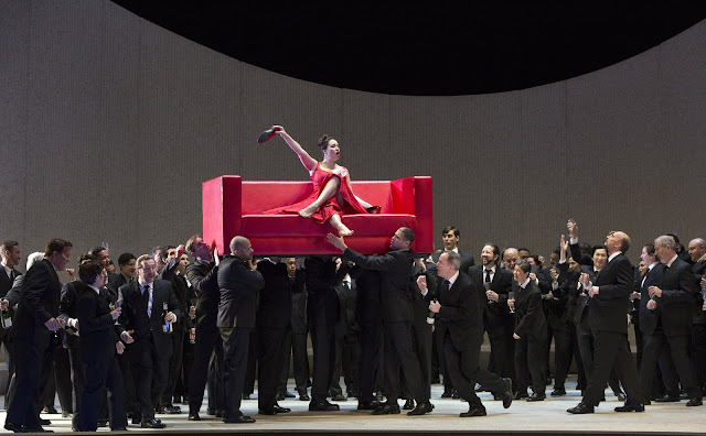 Sonya Yoncheva - Verdi's La Traviata - Metropolitan Opera in 2017 (photo Marty Sohl | Metropolitan Opera)