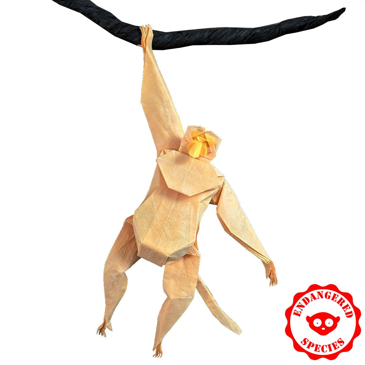 proboscis-monkey-origami