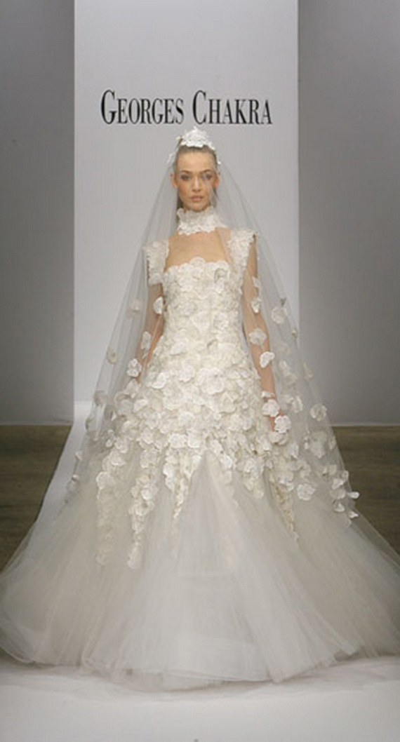 georges chakra wedding dress - photo #1