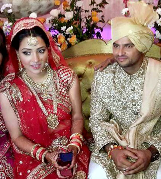 Who Is More Beautiful Suresh Raina Or His Wife (24 Wedding