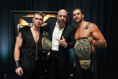 WWE NXT Fashion Files NXT Breezango Tyler Breeze Win Tag Titles