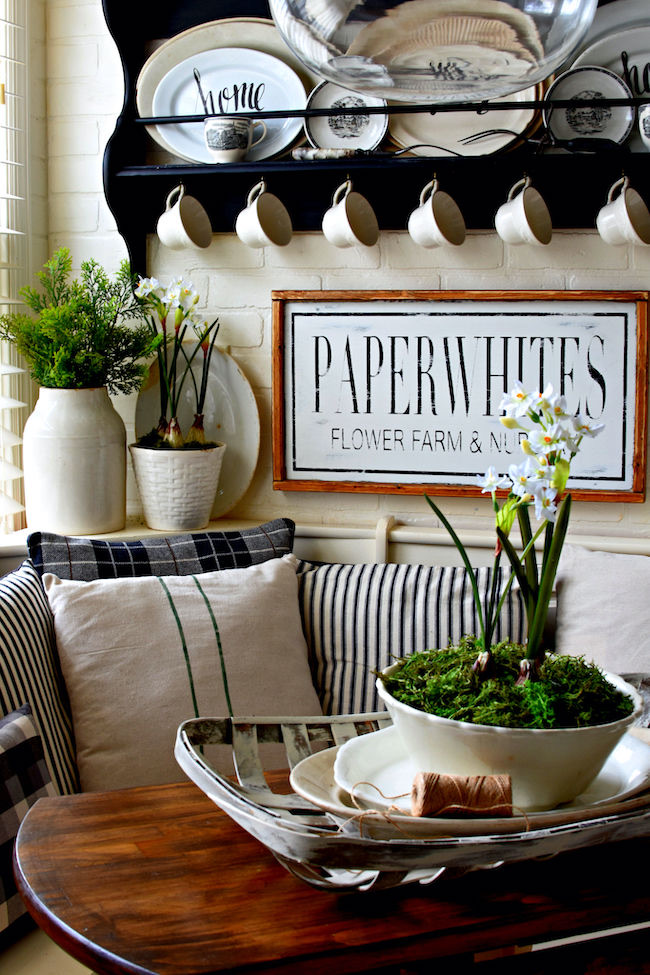 Keeping It Cozy Winter Home Tour by Follow the Yellow Brick Home featured at Pieced Pastimes