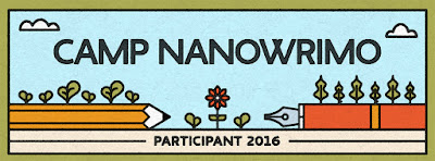 Amber, the Blonde Writer - Camp NaNoWriMo 2016 participant