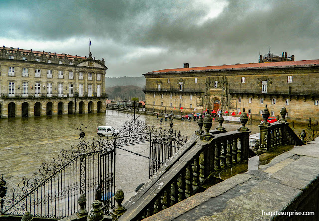 Praza do Obradoiro, Santiago de Compostela