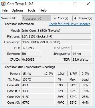 Cách cài đặt phần mềm kiểm tra nhiệt độ máy tính