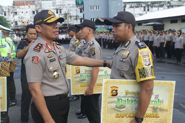 Personil Berprestasi Asal Polres Muba Raih Penghargaan