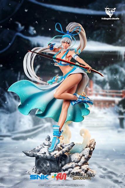 Figura de Mina Majikina del Samurai Shodown - TriEagles Studio