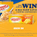 Velveeta Cheese Instant Win Giveaway - 5,650 Winners. Win Free Velveeta Cheese Products or SECStore $10-$100 Gift Cards. Grand Prize $23,000 Prize Pack. Daily Entry. Ends 12/1/20