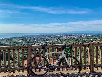 cycling triathlon training routes livorno tuscany italy
